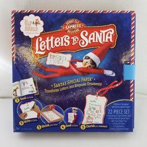 ELF ON A SHELF Letter To Santa